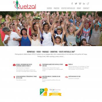 El Quetzal, communication audiovisuelle